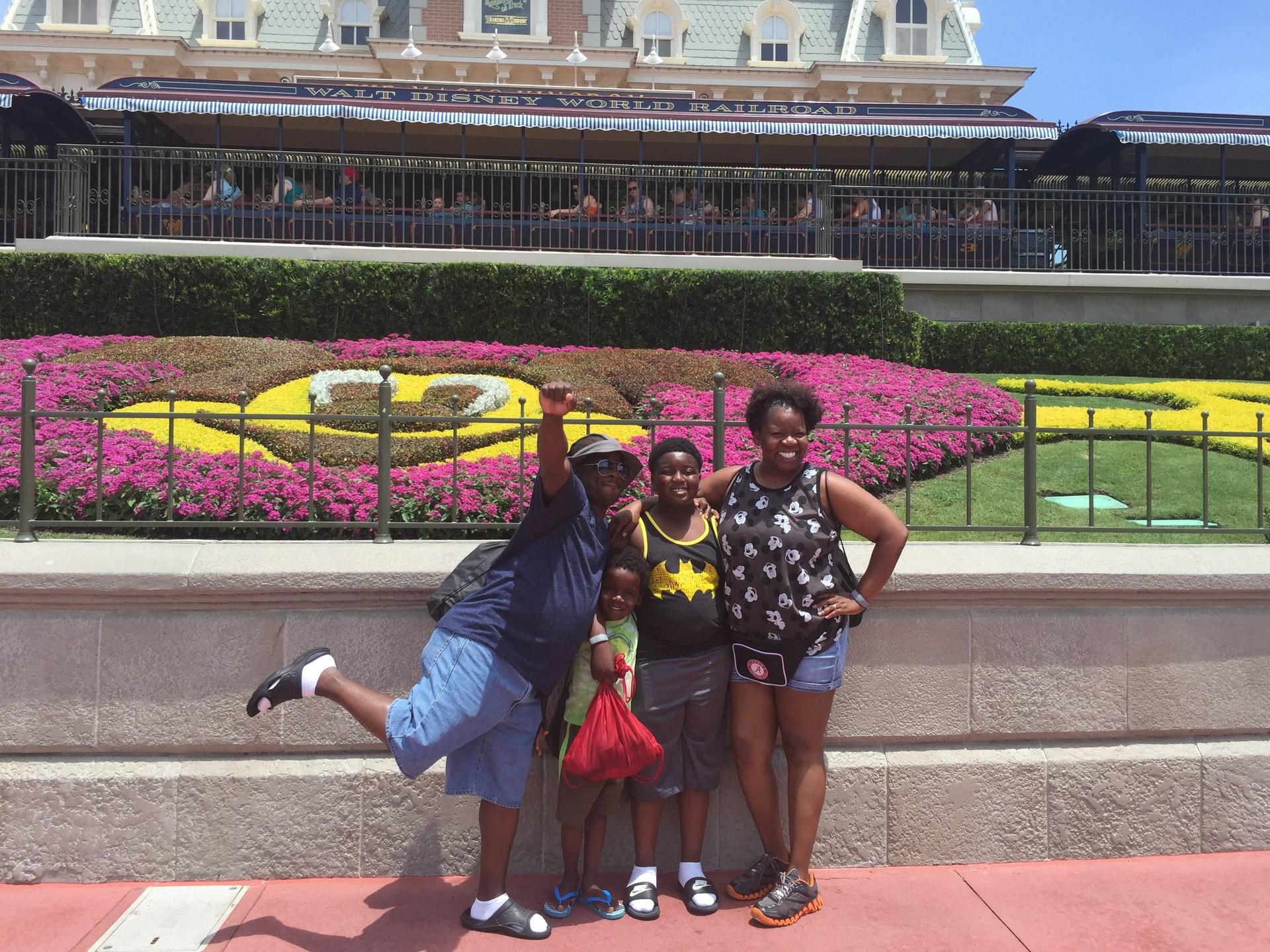 Family Vacation to Disney World (2016)