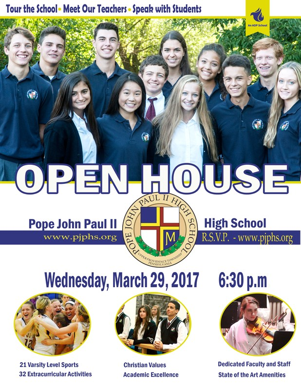 Seventh Grade Visitation Day and Spring Open House - March 29 - RSVP Here Thumbnail Image