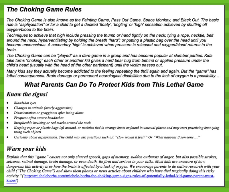 The Choking Game Thumbnail Image