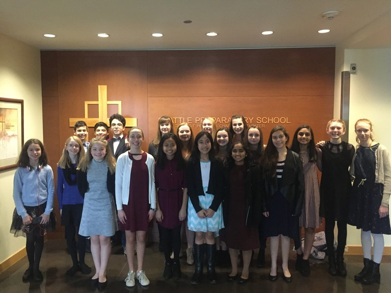 ST. LOUISE SPEECH TEAM TAKES 3RD PLACE AT SEATTLE PREP TOURNAMENT Featured Photo