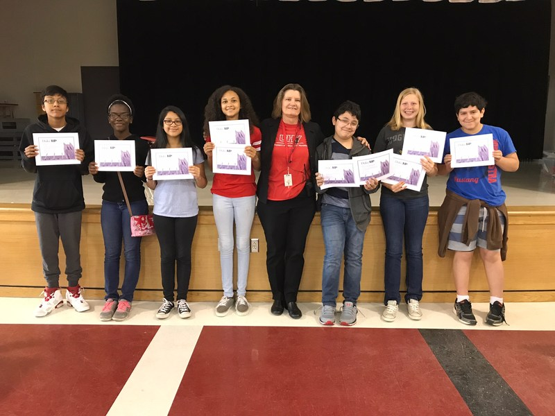 7 MMS students participate in Duke Tip 7th Grade Talent Search program Thumbnail Image