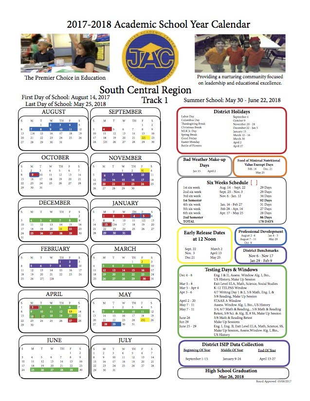 News And Calendar Our School Jubilee Highland Hills