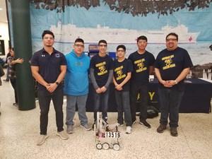 TESLA League Team (CyberCavs) - Currently 4th Rank Position Overall for TESLA League Manuel Salinas-Patino (8th Grade), Joel Quijada (8th Grade), Gael Garcia (8th Grade), Salim Guizar Servin (8th Grade), Pedro Rojas (8th Grade), Kendrick Torres (8th Grade), and Jorge Villasana (8th Grade).