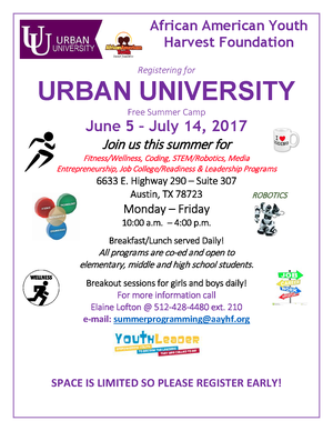 2017 Urban University Summer Camp Flyer.png