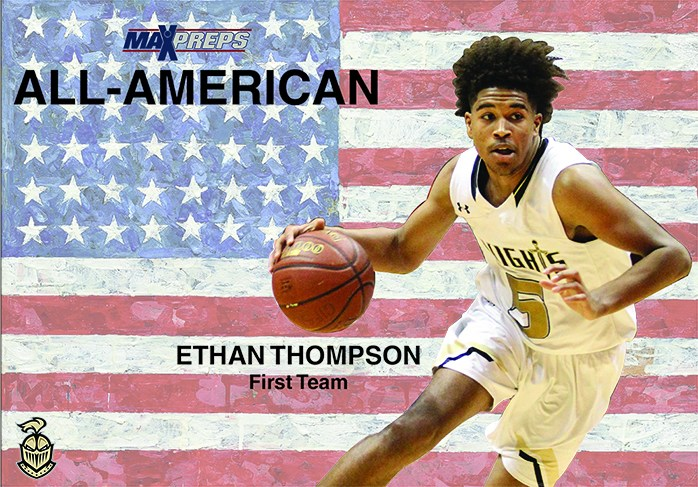 Thompson Named 1st Team All-American Thumbnail Image