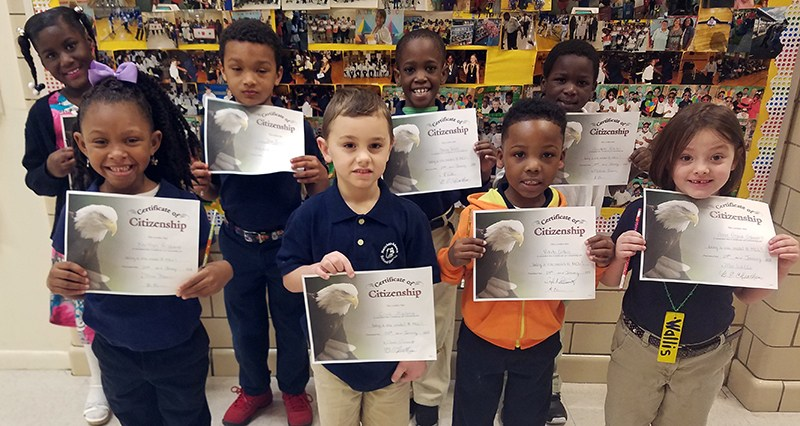 McLaurin Elementary School's Good Citizens of the Month for January Thumbnail Image