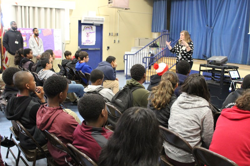 High Schools are Visiting Tubman! Featured Photo