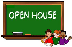 Open House announcement picture.