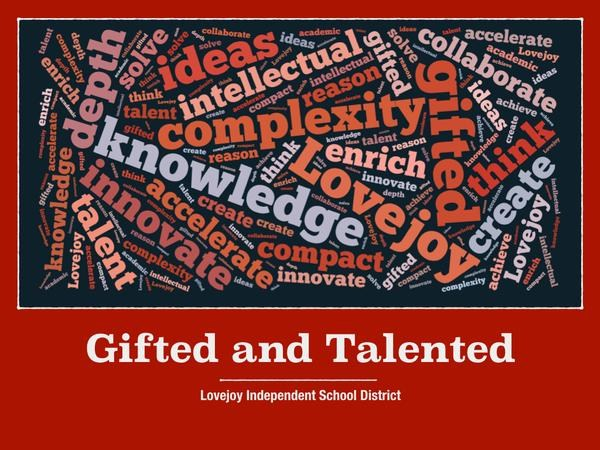 Gifted And Talented Gifted Talented Lovejoy