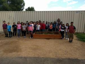 Mrs. Preston's 4th Grade Pizza Garden