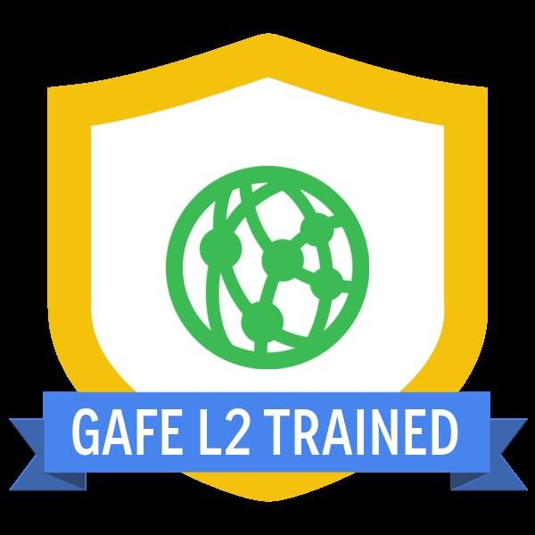 GAFE Level 2 Certification Badge