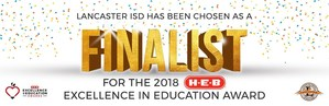 H-E-B Finalist Award Graphic