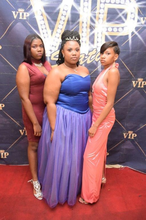 Invictus High School students at 2017 Prom