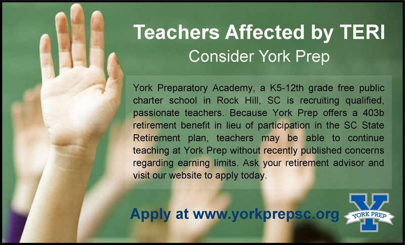 Teacher Affected by TERI: Consider York Prep Featured Photo
