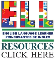 ELL Resources Logo - Link to ELL Resources