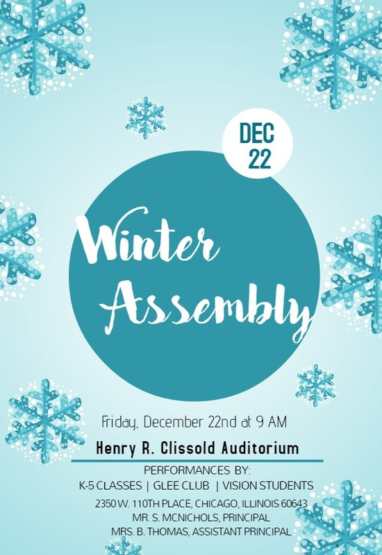 Winter Assembly Featured Photo