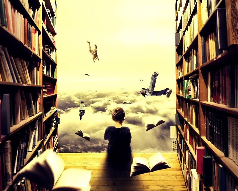 Books help you to dream.