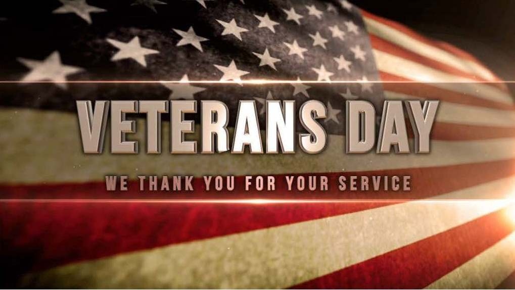 We celebrate our Veterans