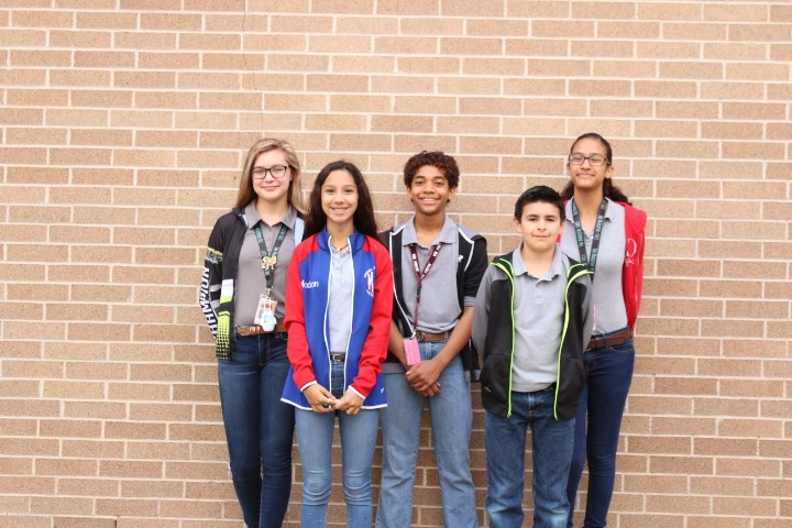 Mission Jr. High's Destination Team