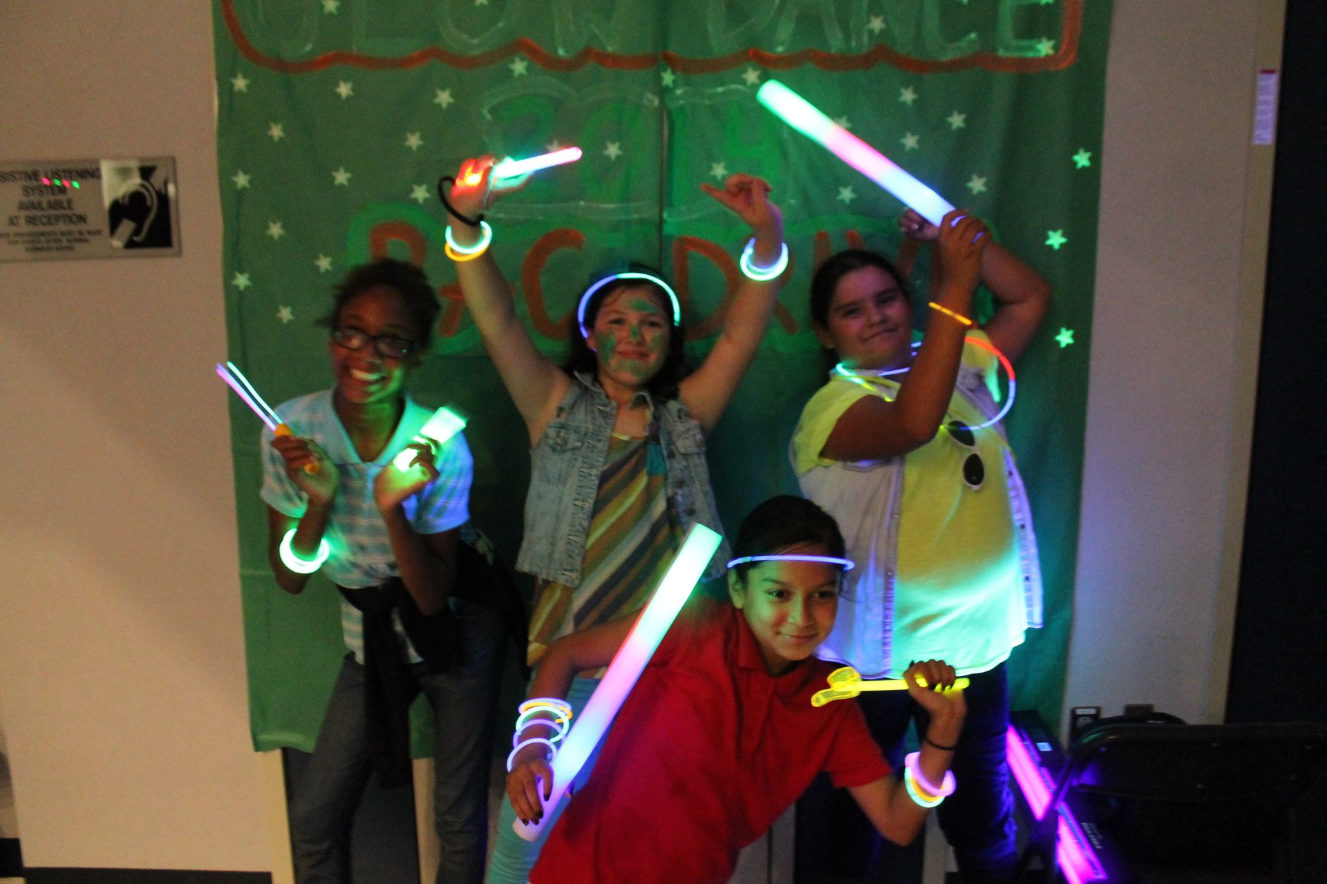 Glow Party at ASES