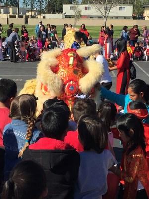 Feeding the Lion Li Xi