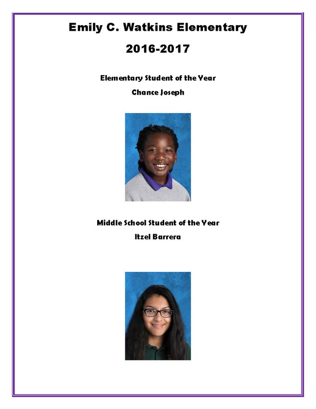Students of the Year Thumbnail Image