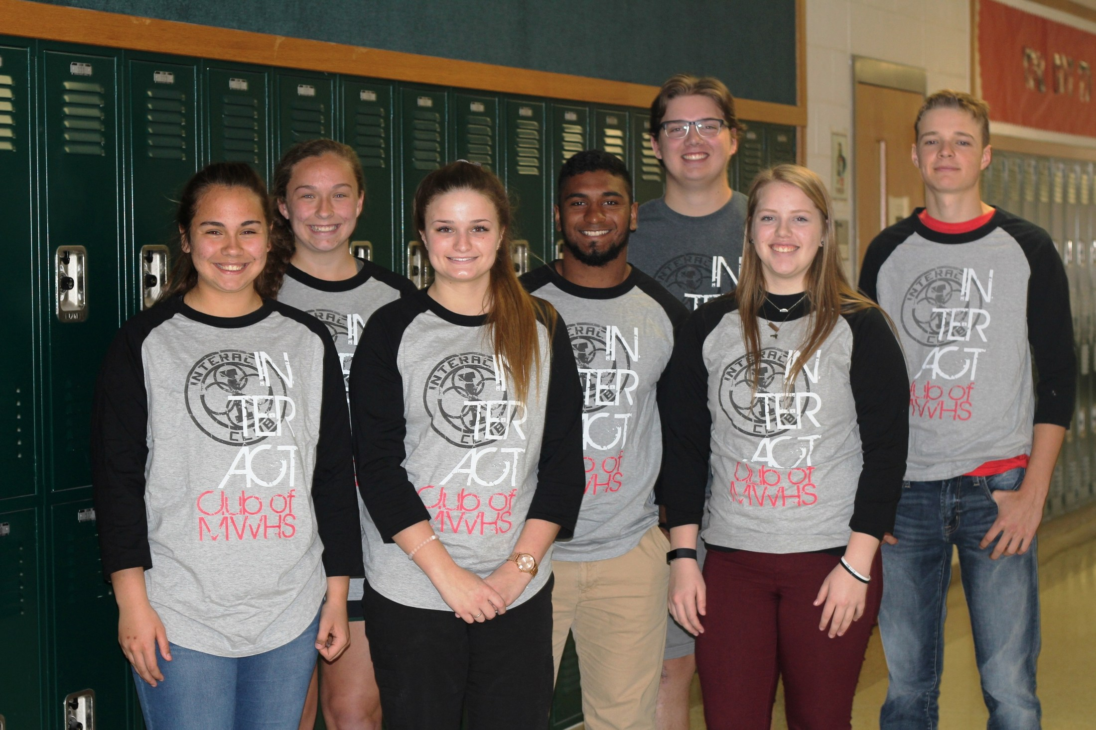 2016-17 Interact Club Officers