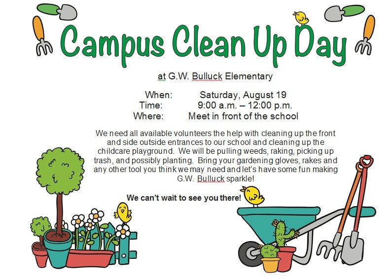 CAMPUS CLEAN-UP Thumbnail Image