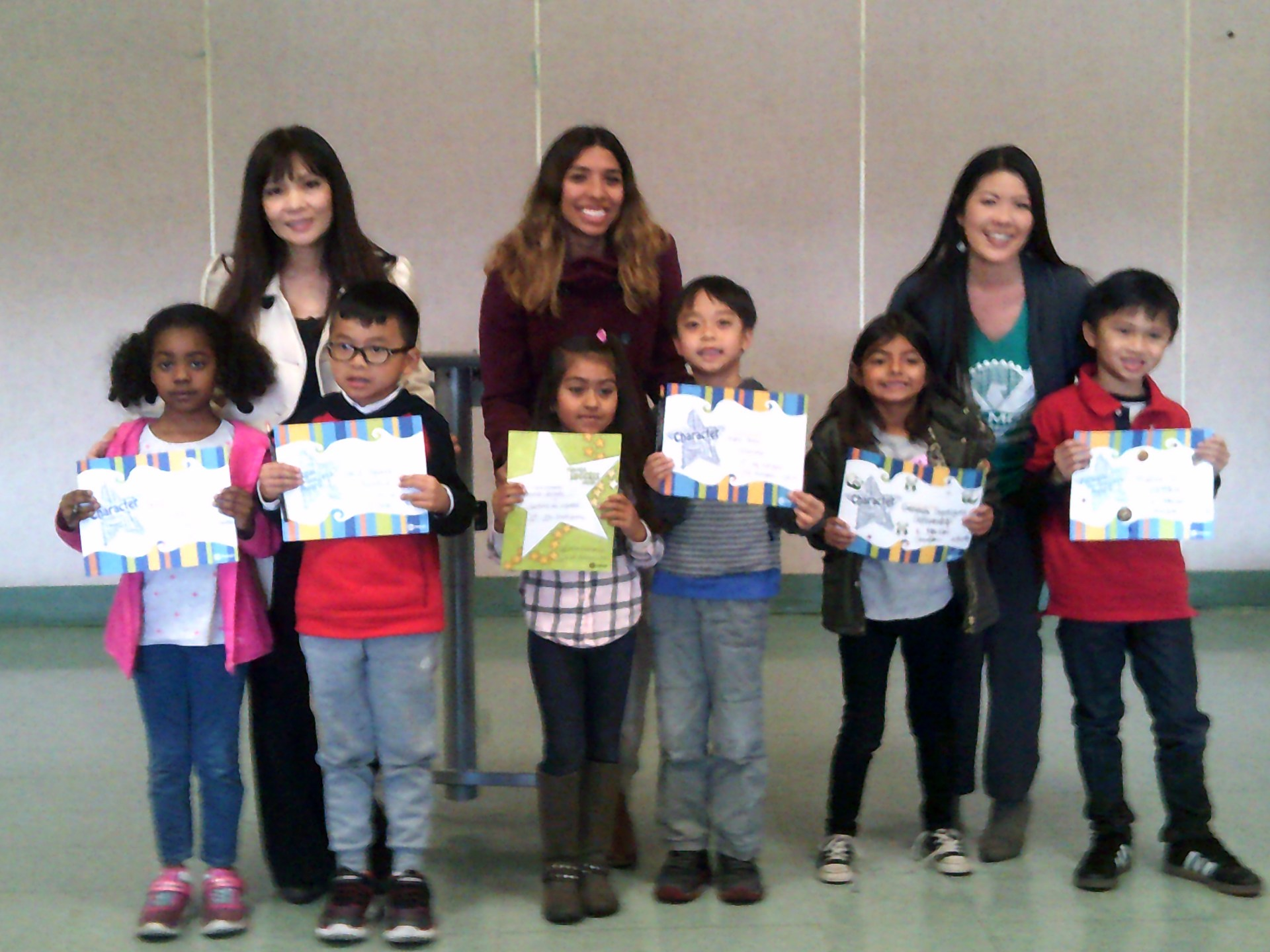 First Grade February Honorees