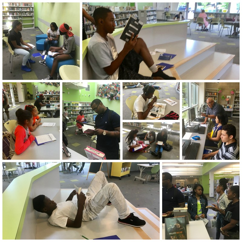 Summer Bridge Scholars Get to Work Reading at the Deanwood Library Thumbnail Image