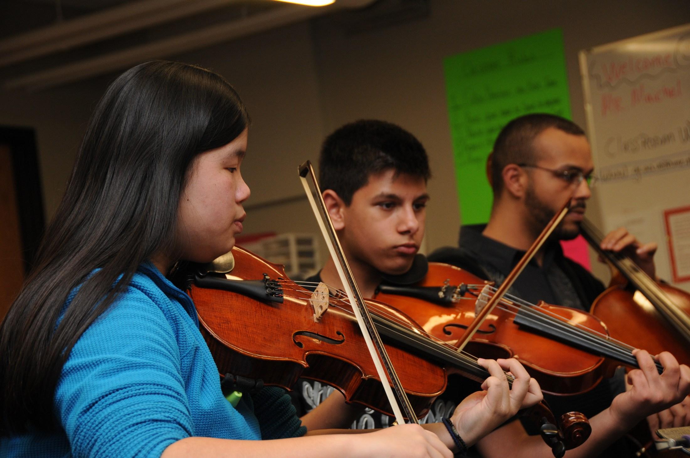 GCAA musicians
