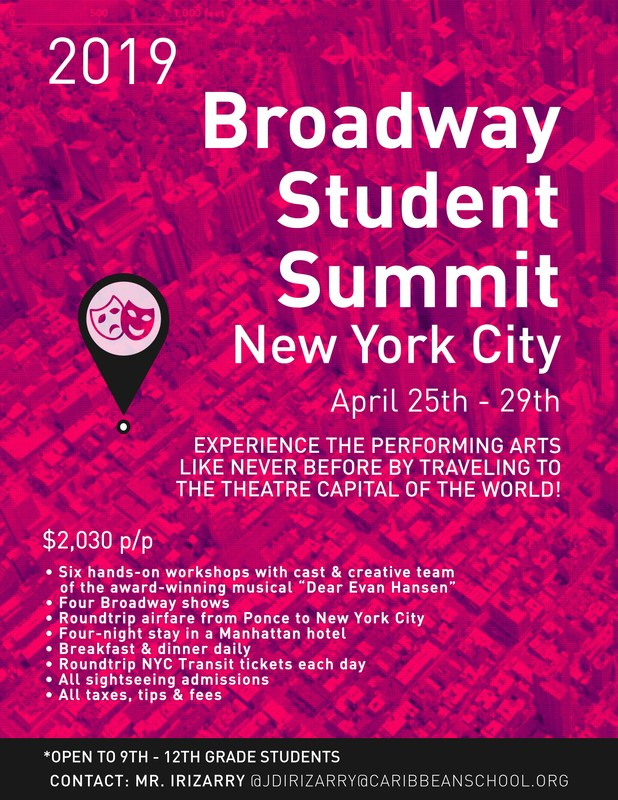 BROADWAY STUDENT SUMMIT NEW YORK CITY APRIL 2019 Thumbnail Image