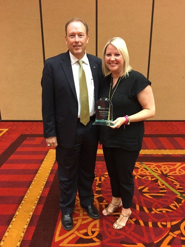 Shannon Railing Upper Cumberland Coordinator of the Year Thumbnail Image