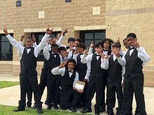 Decker Middle School's Men's Choir