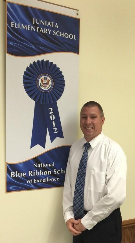 Mr. Dambeck with 2012 National Blue Ribbon Award