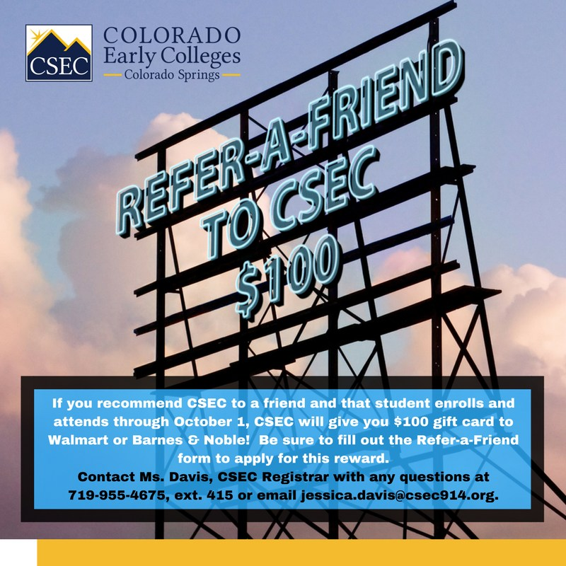 Refer-a-Friend sign