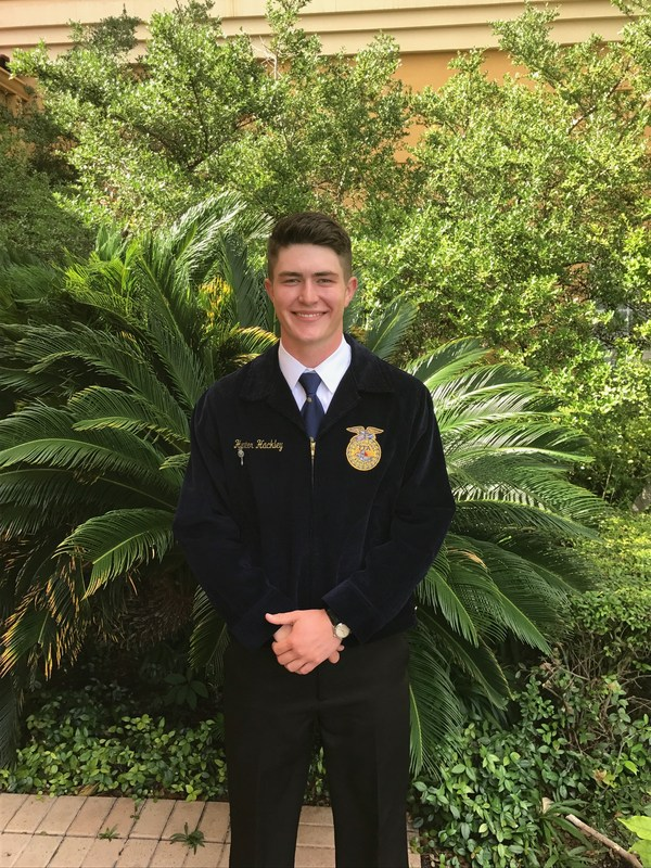 Hunter Hackley Selected as an FFA Ford Scholar Thumbnail Image