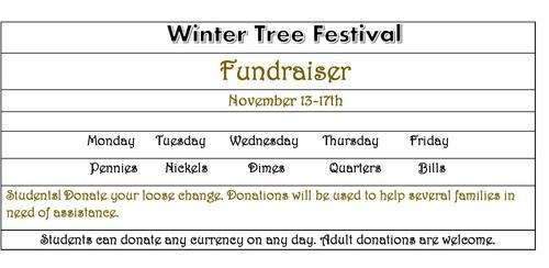 Winter Tree Fundraiser