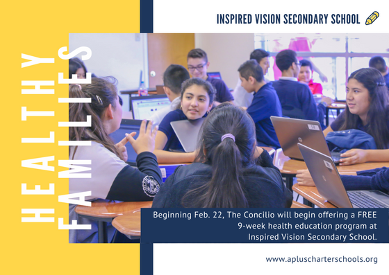 Inspired Vision Secondary Families Thumbnail Image