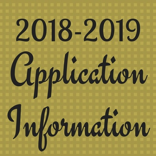 2018-2019 Application Information Thumbnail Image