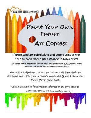 BOCES Art Contest Poster