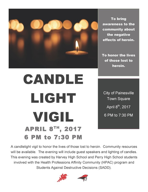 HPAC And Harvey Students To Hold Candlelight Vigil Against Heroin Thumbnail Image