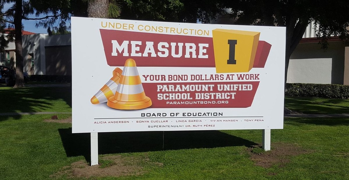 Facilities Bond Program Measure I Paramount Unified School District