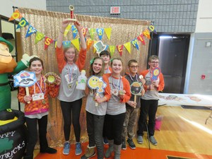 A TKMS OM team placed first at the state contest and advances to the world competition.