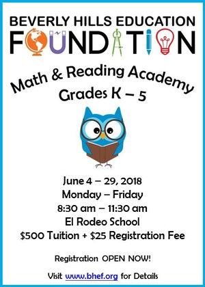Math & Reading Academy