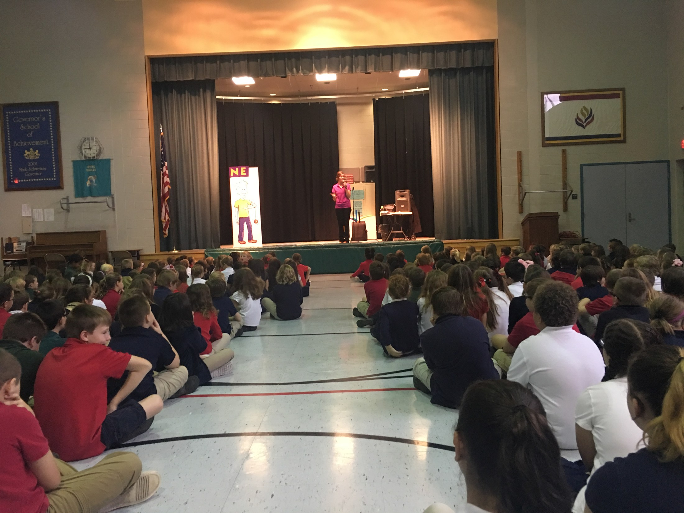 Character Building Assembly