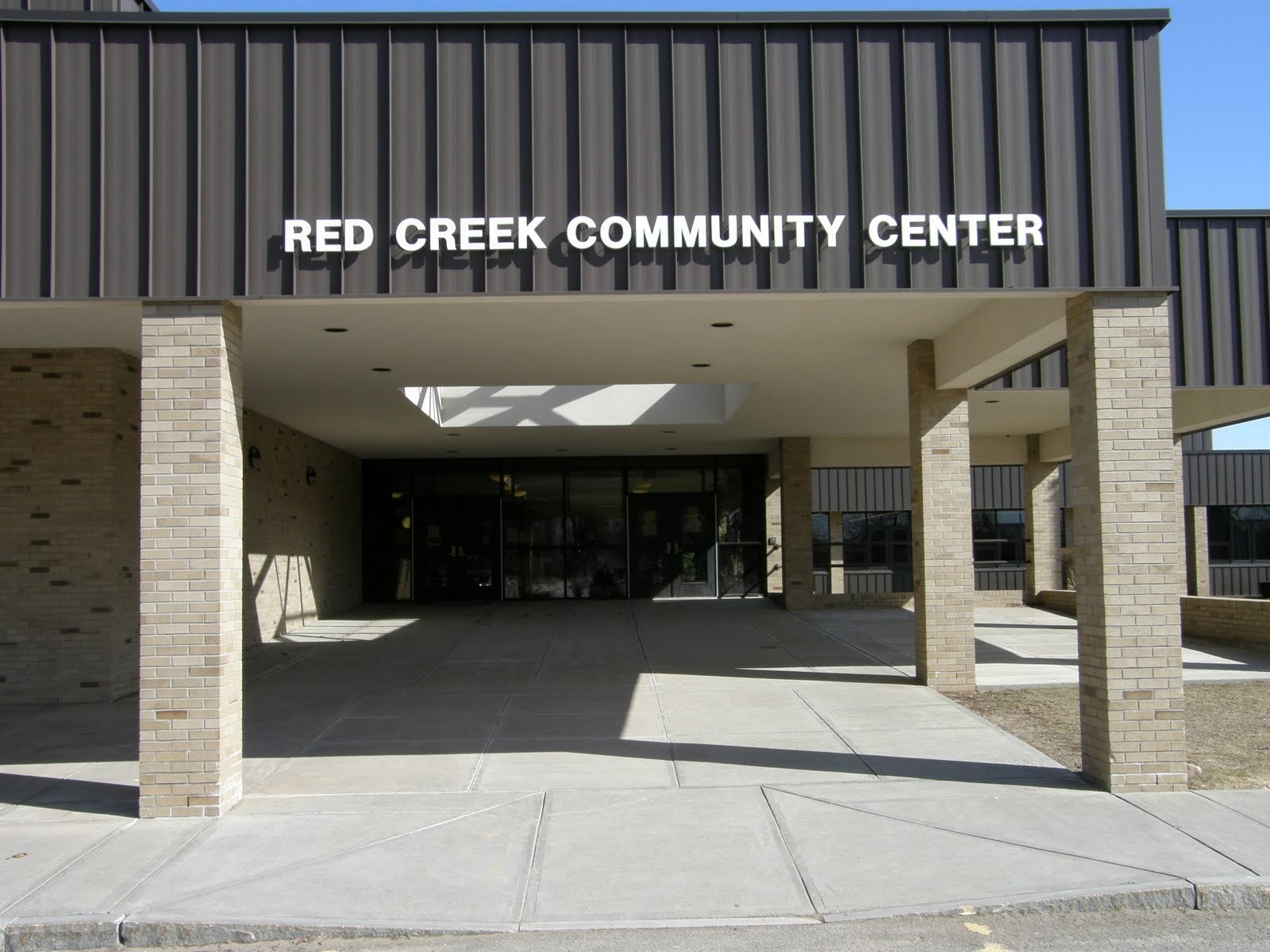 RC Community Center Entrance