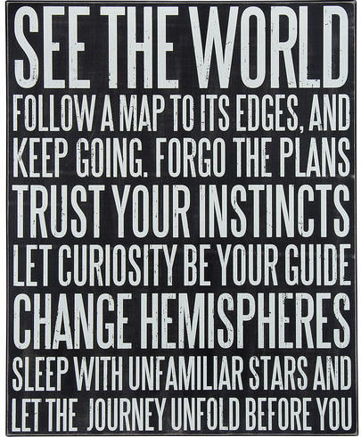 quote follow a map .... your guide
