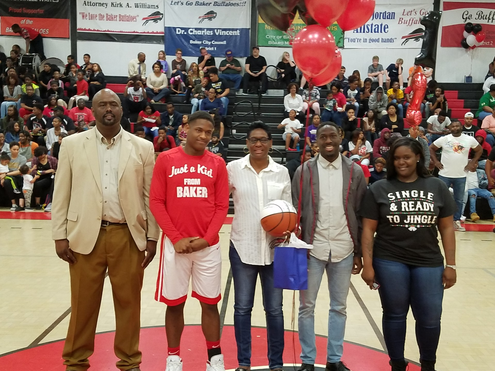 Terry Johnson - Baker High School Boys Basketball Senior