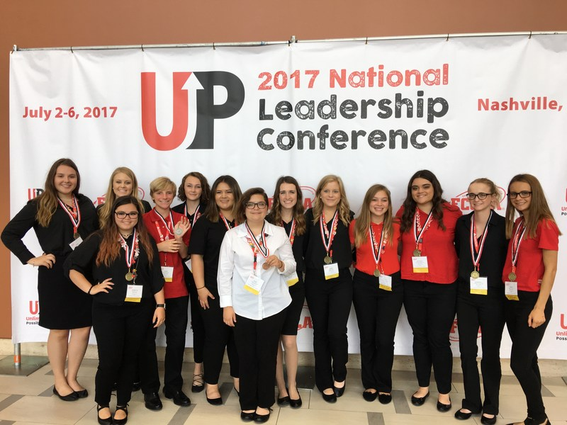 FCCLA Members Compete at Nationals, Take GOLD! Thumbnail Image